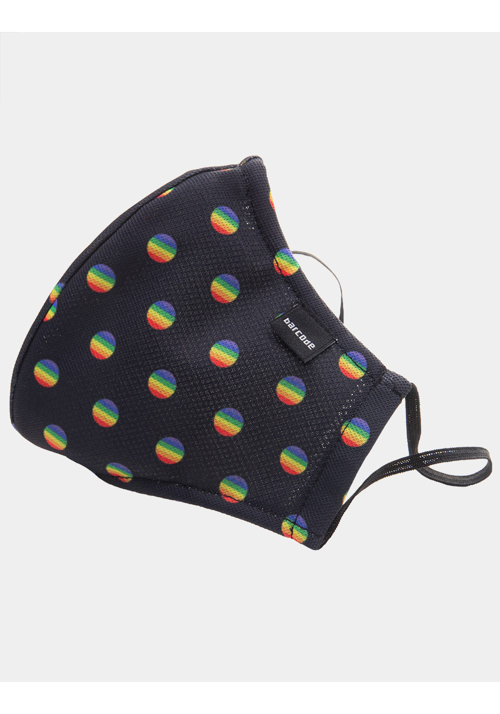 Barcode Berlin Mask Major General Michelinho | Black/Rainbow