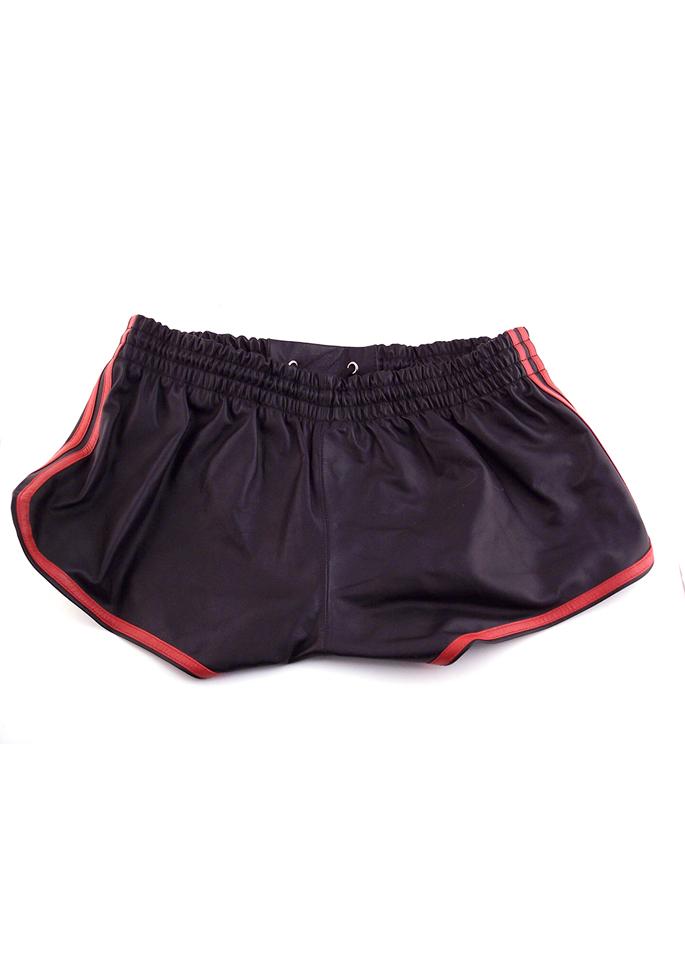 Rouge Leder Shorts