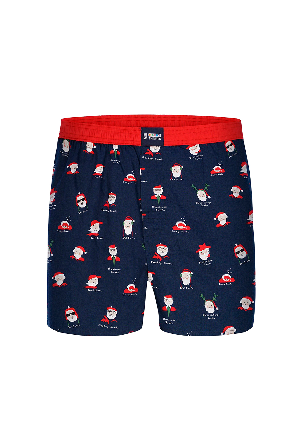 Happy Shorts Santa