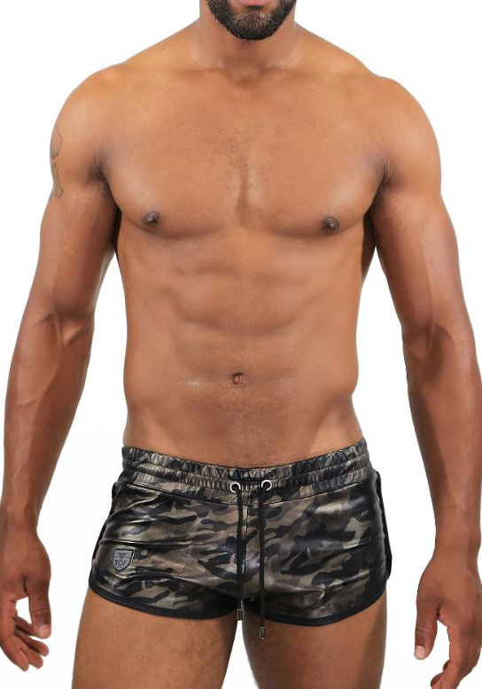 TOF SH0019C camo Commando Shorts
