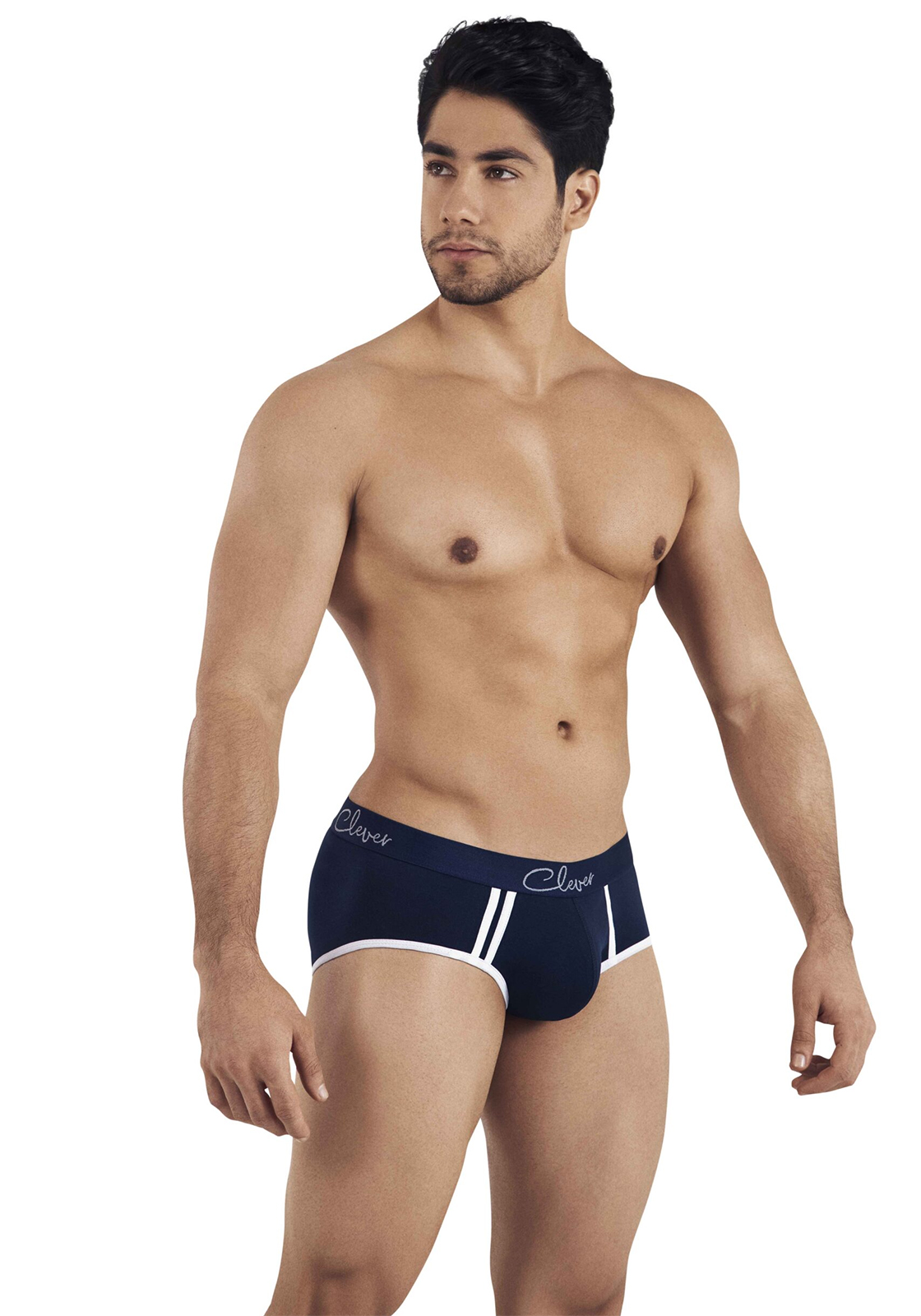 Clever Lowa Piping Brief | Dark Blue