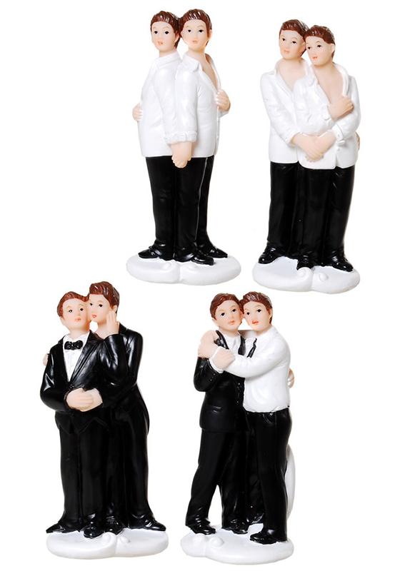 Hochzeitspaar Männer klein