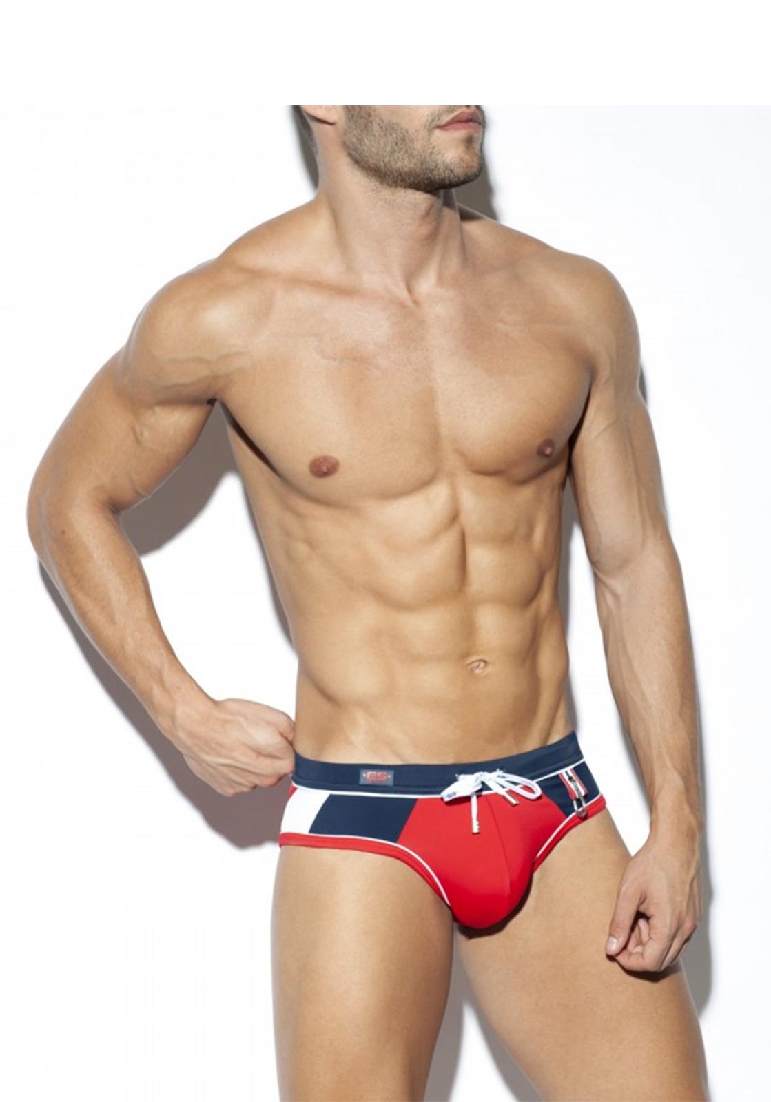 ES Collection Sport Swim Brief | Red