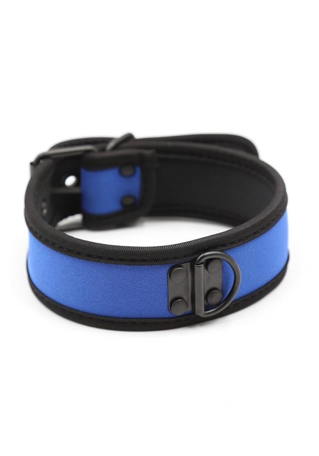 Rude Rider Neopren Puppy Halsband Blau