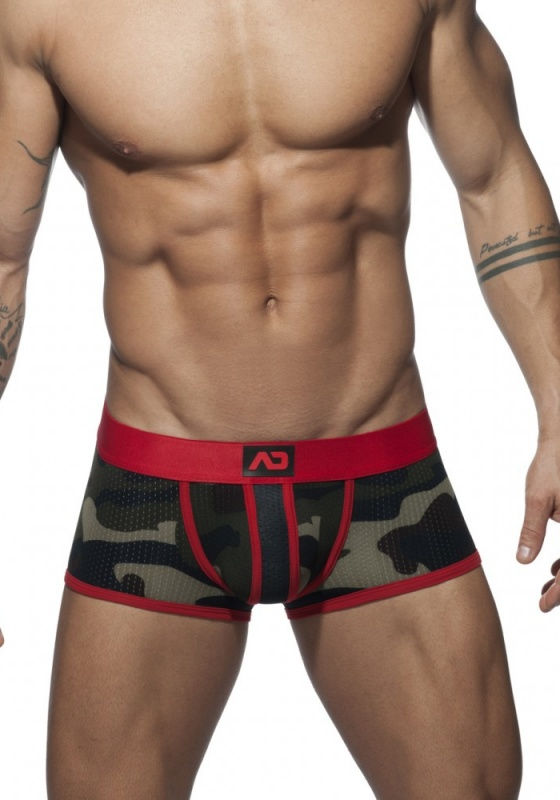 ADDICTED 765 Camo Stripe Boxer