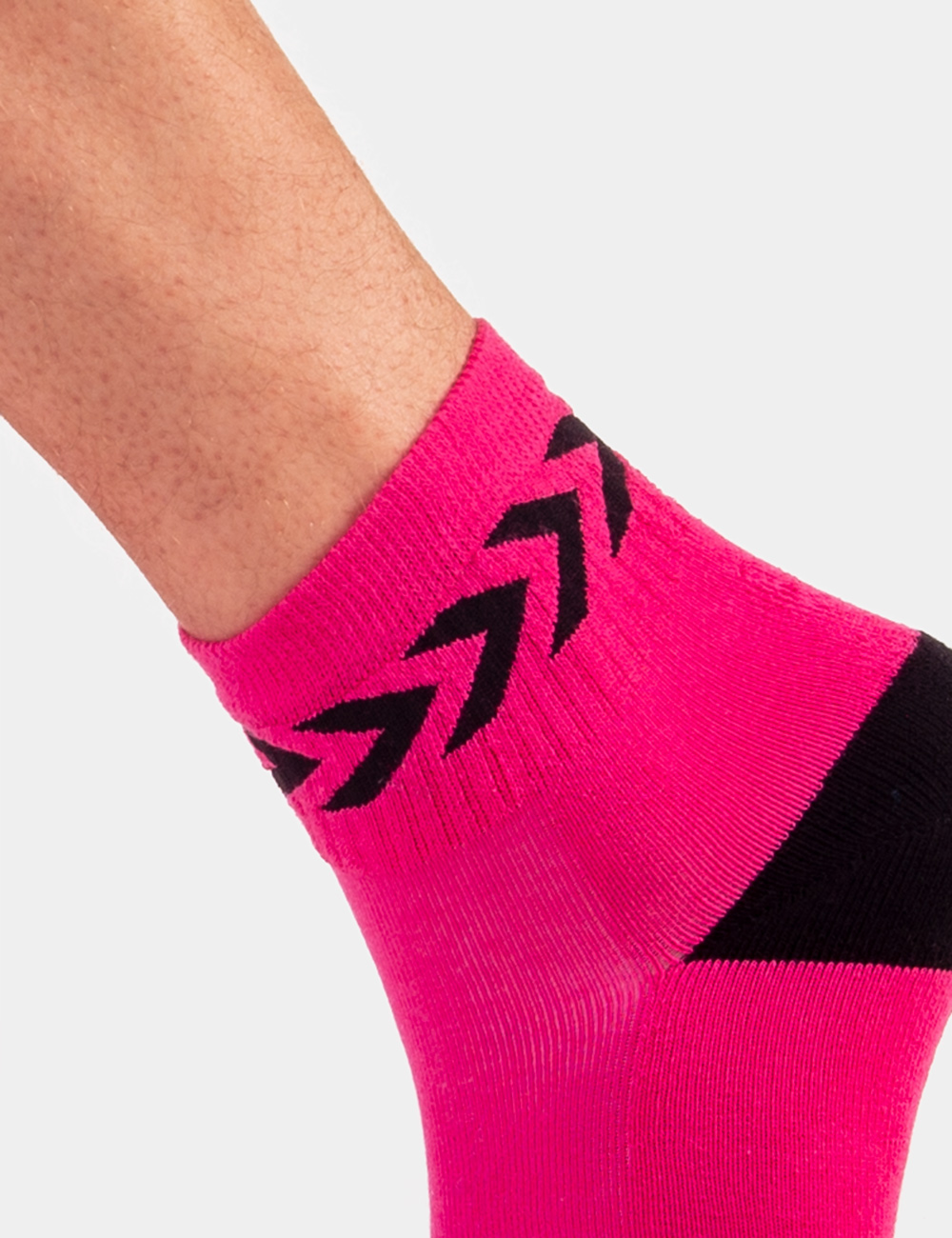 Barcode Berlin Petty Socks | Pink|Black