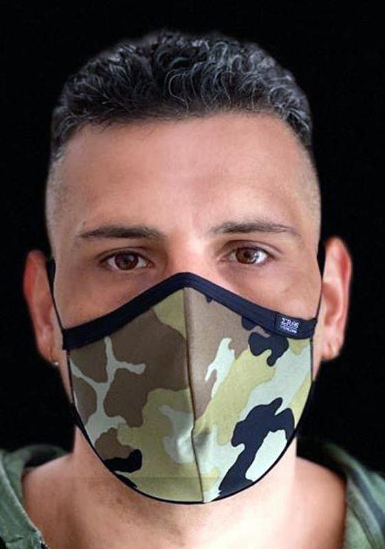 EROS VENEZIANI Gesichtsmaske Camouflage