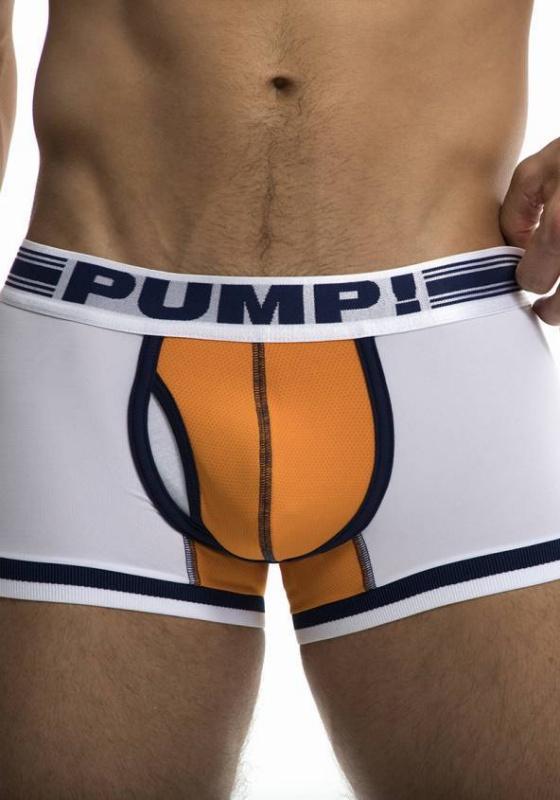 PUMP 11076 wht/ora/nvy Touchdown Varsity Boxer