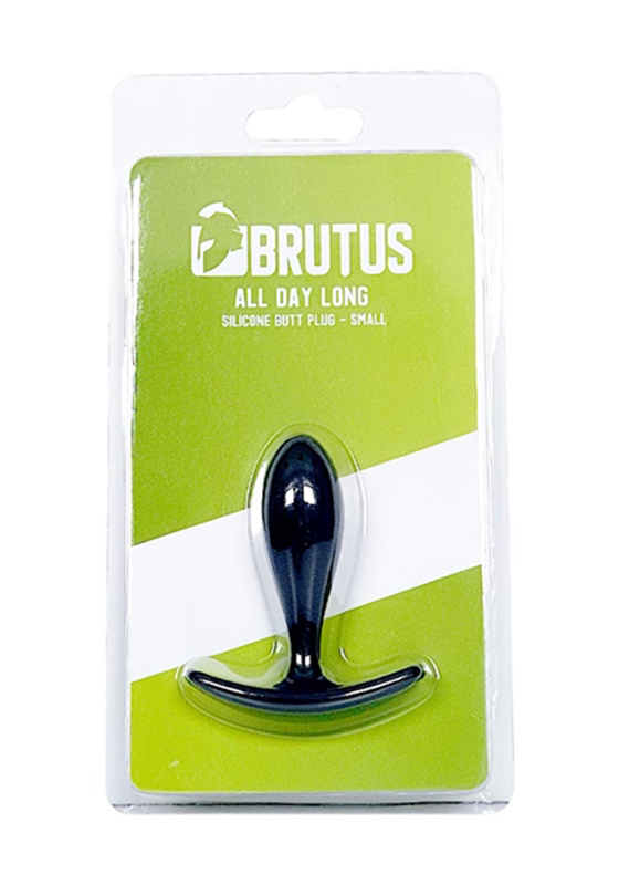 Brutus: All Day Long Silicone Butt Plug - S 74 mm