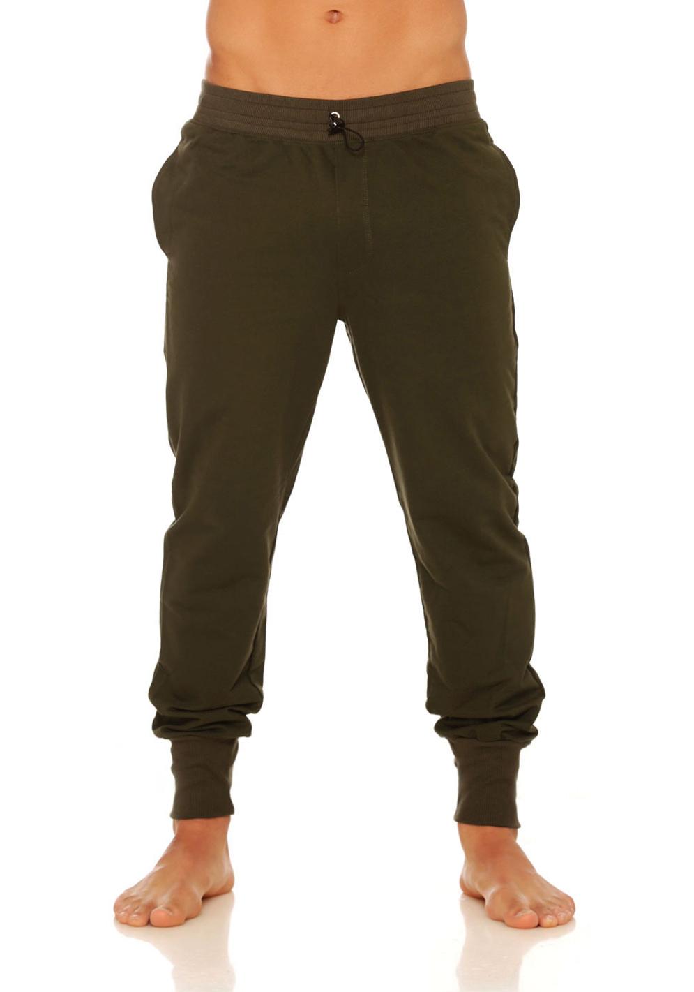 Mundo Unico Comfort Wear Long Jogger | Green