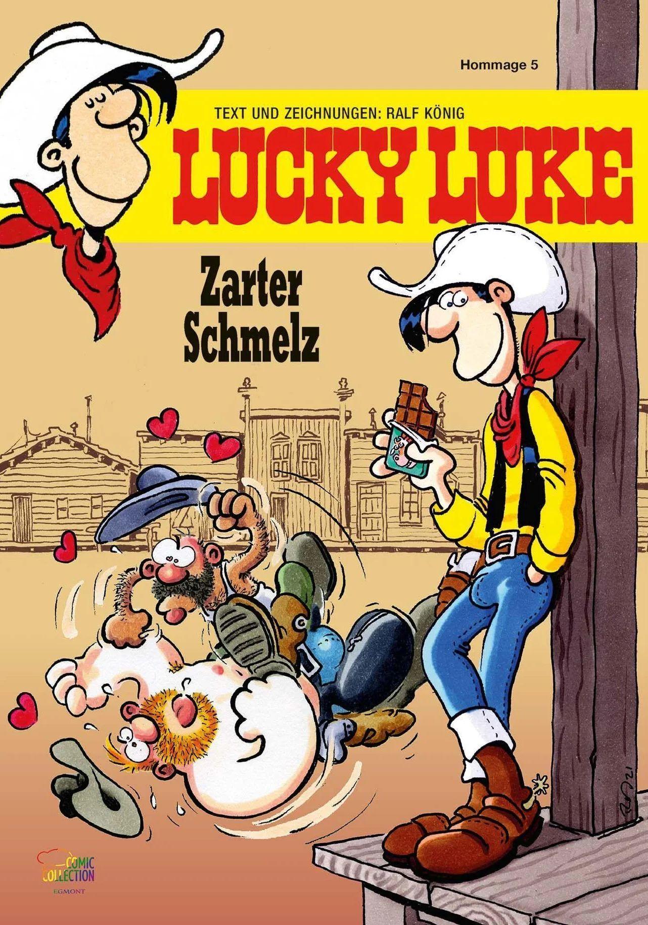 Ralf König | Lucky Luke - Zarter Schmelz
