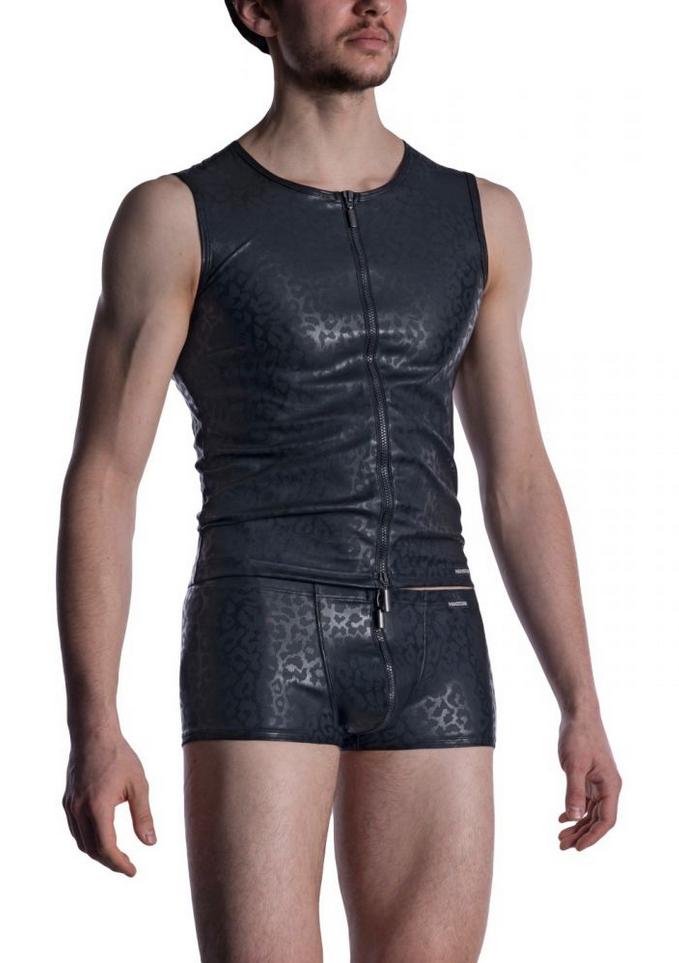 MANSTORE M2002 Zipped Vest