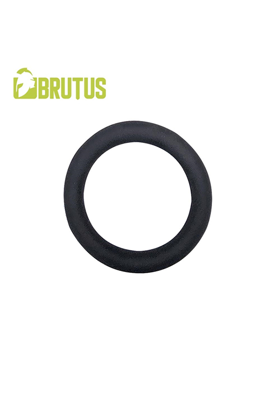 Brutus: Slim Donut Silicone Cock Ring Ø 45 mm