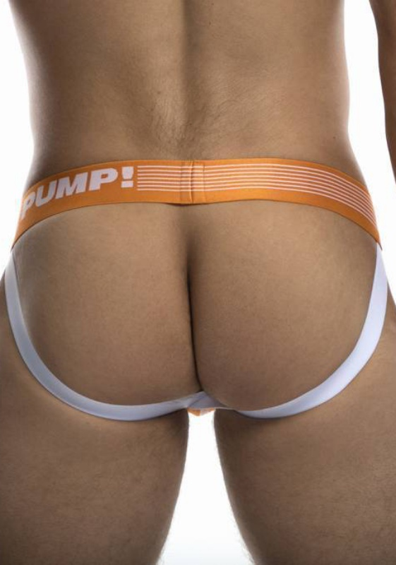 PUMP 15041 orange/white Creamsicle Jock