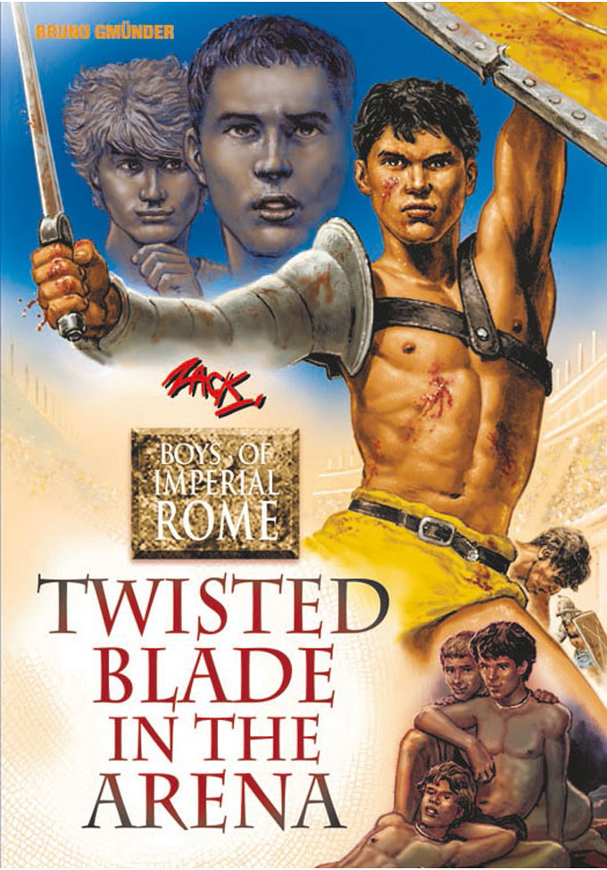 Twisted Blade in the Arena - Boys of Imperial Rome 4