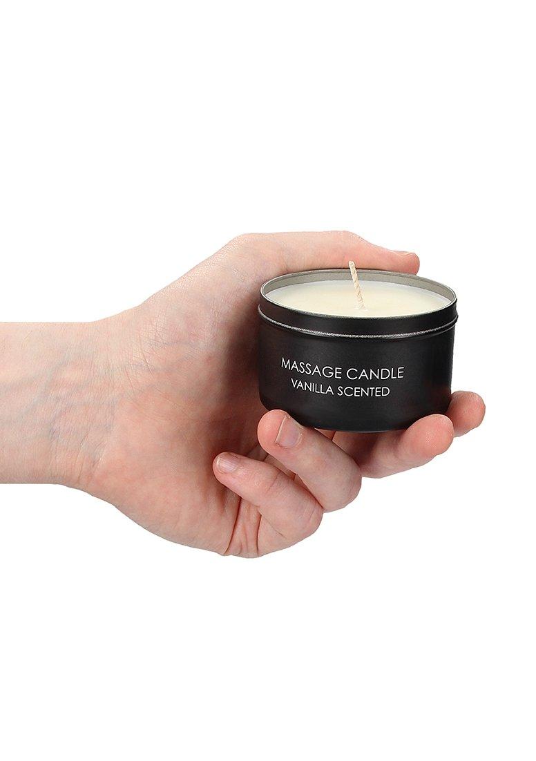 Massagekerzen Set | Pheromone, Vanille, Rose
