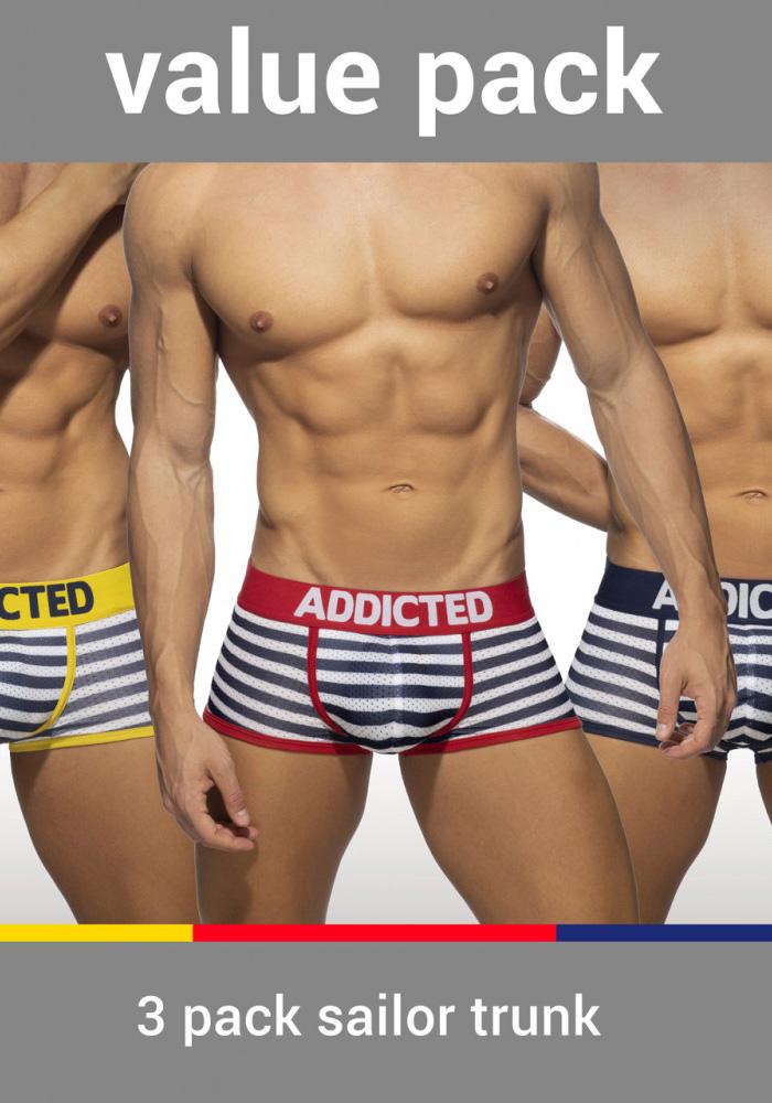 Addicted Sailor Trunk 3-Pack