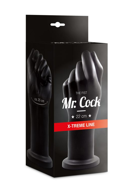 Mr. Cock: XXL Plug The Fist 22 cm (black)