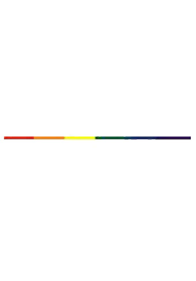 Regenbogen Aufkleber Streifen