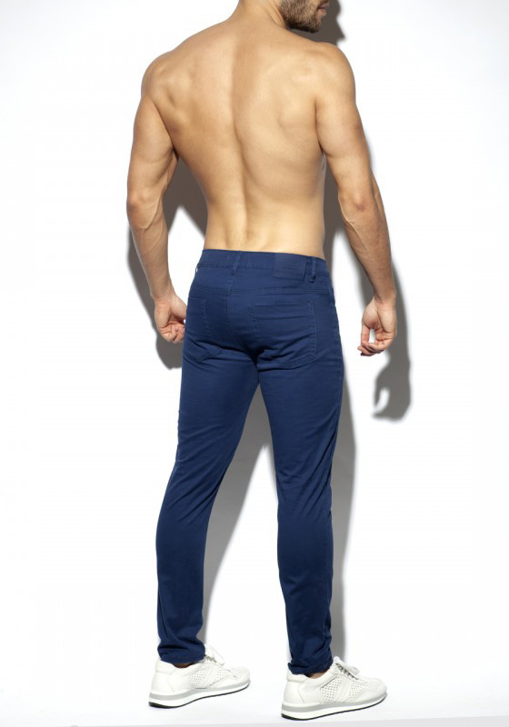 ES Collection Slim Fit Trousers | Navy