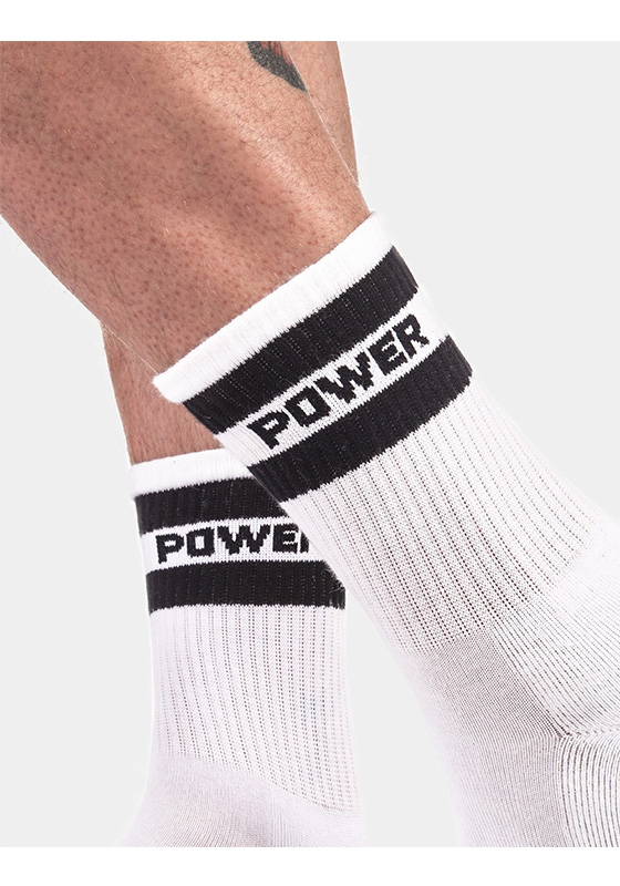 Barcode 91724 Half Fetish Socks Power