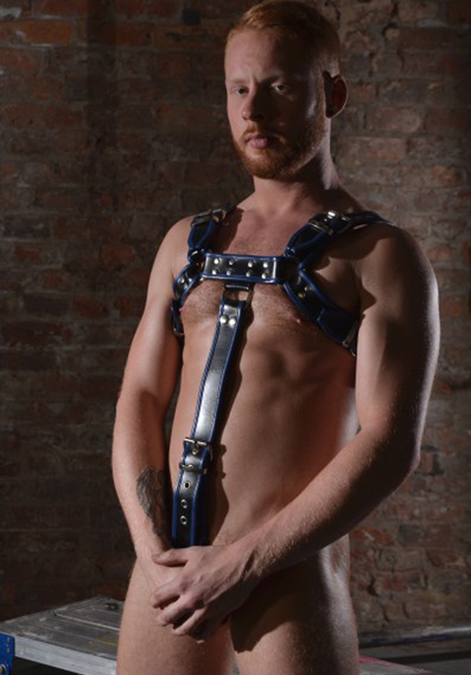 Rouge Body Harness mit Cockring