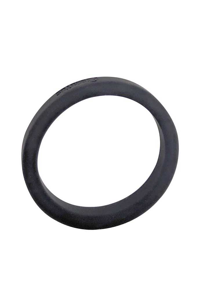 Brutus: Flat Slick Silicone Cock Ring
