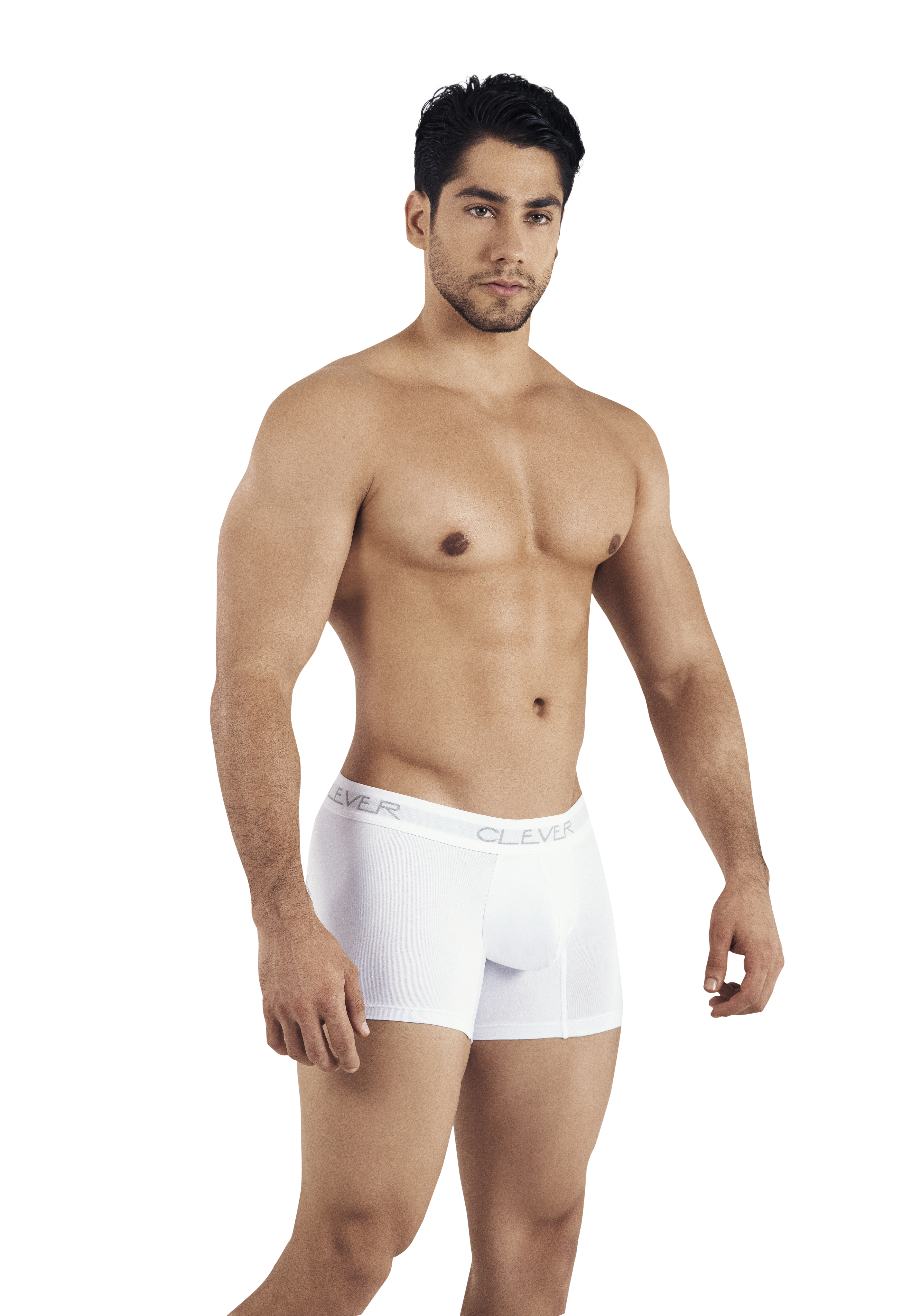 Clever Basic Boxer | White