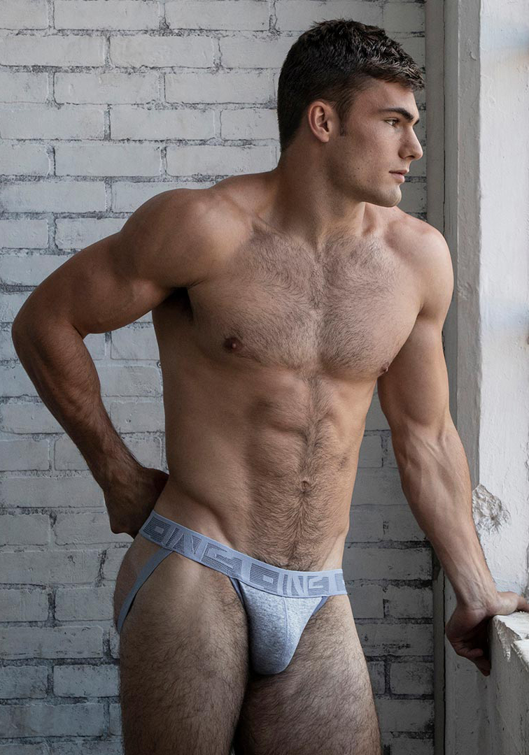 C-IN2 Hand Me Down Jock | Heather Blue