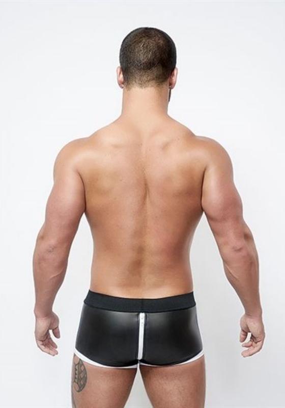 Mr. B: Neoprene Shorts 3 Way Full Zip