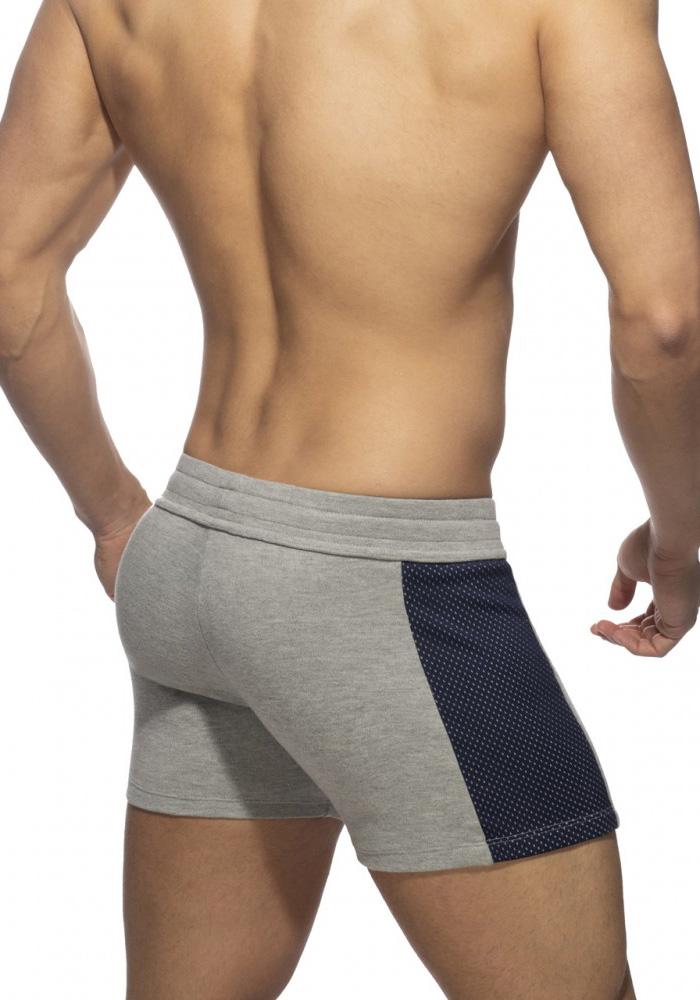Addicted Pocket Sport Shorts | Heather Grey