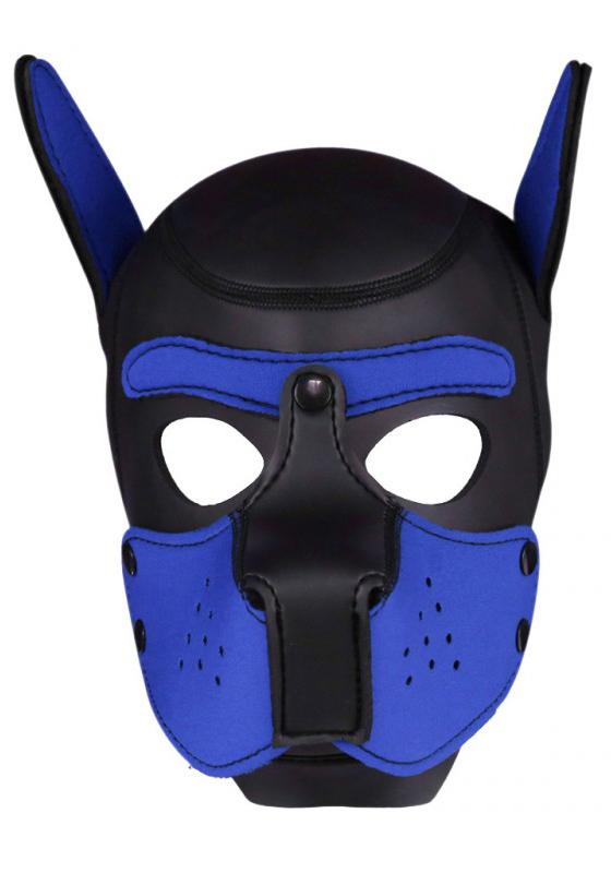 Rude Rider Neopren Puppy Maske Blau