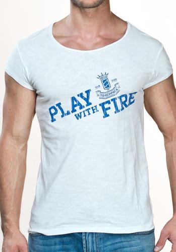 TP 4400 optical white M Play Dean Shirt