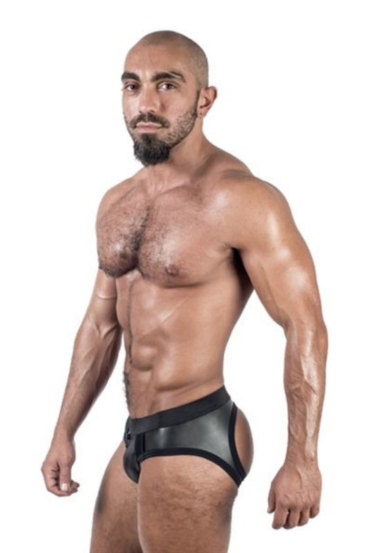 Mr. B: Neoprene Jock Brief