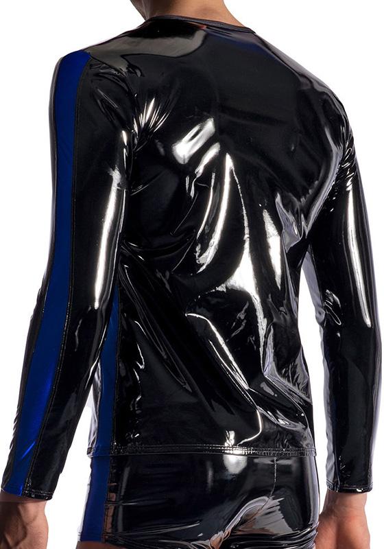 Manstore M954 black Zipped Longsleeves
