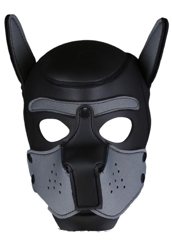 Rude Rider Neopren Puppy Maske Grau
