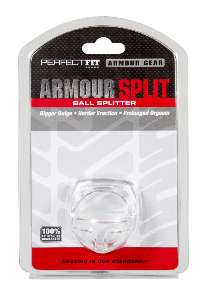 Perfect Fit Armour Split - Cockring & Hodensackteiler