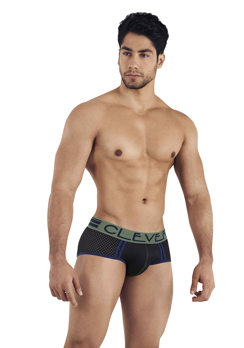 Clever Brasilea Piping Brief | Black