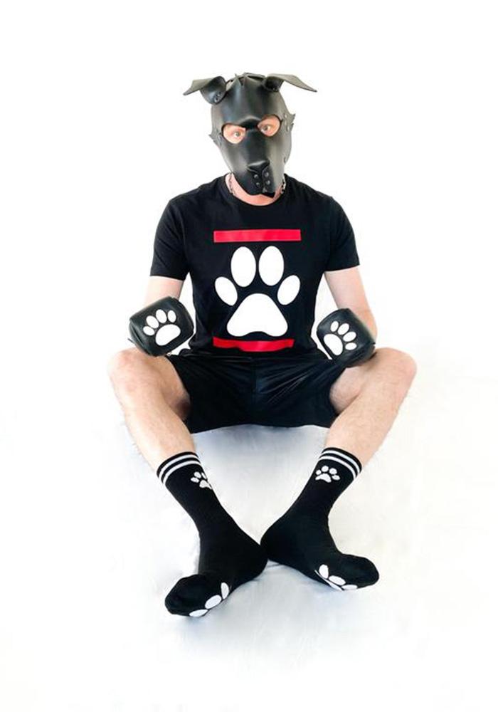 Sk8erboy Puppy Socks | Black