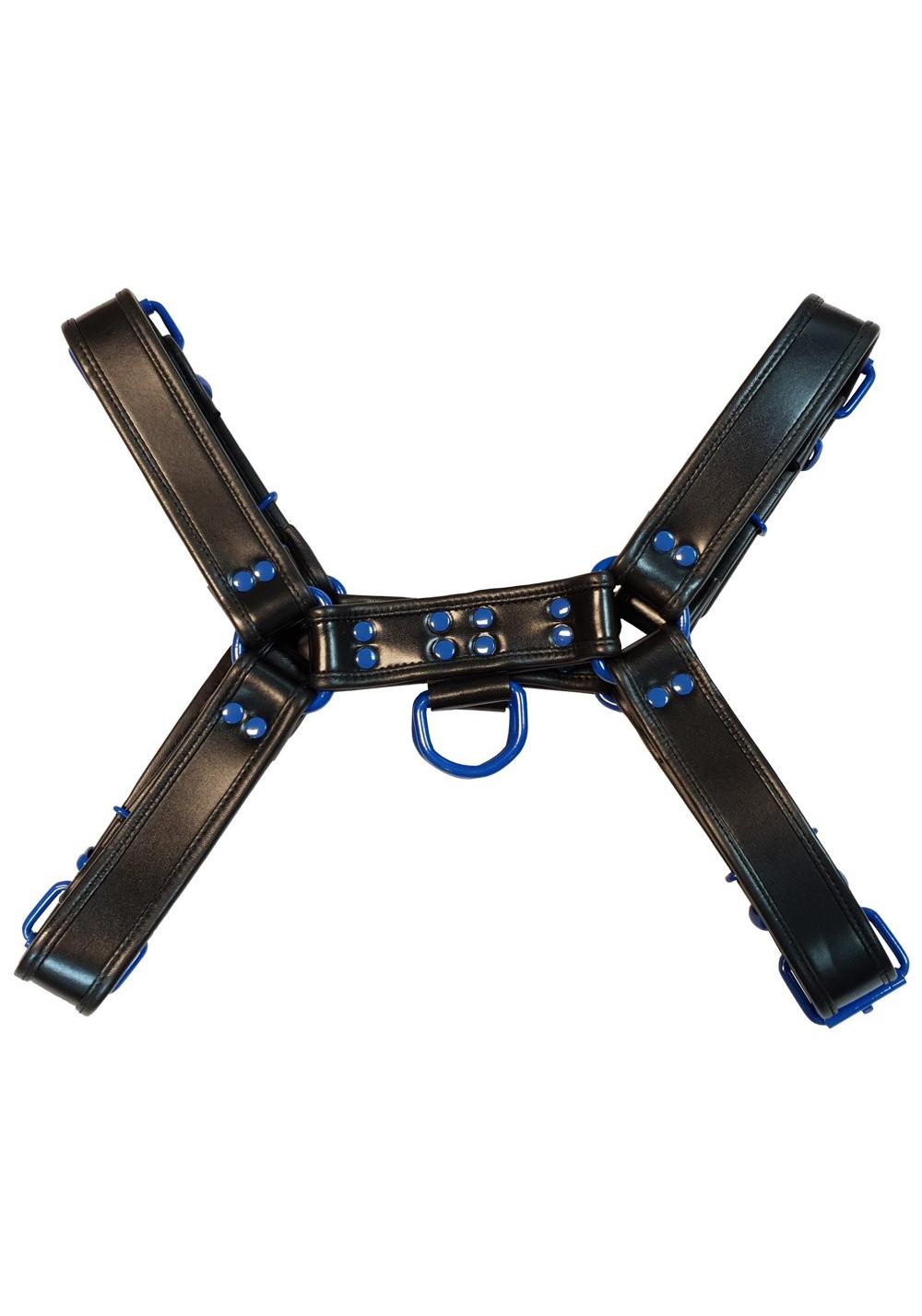 Rouge H-Front Harness Black/Blue
