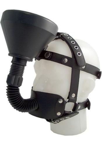 Mr. B: black OS Leder Refuel Head Harness