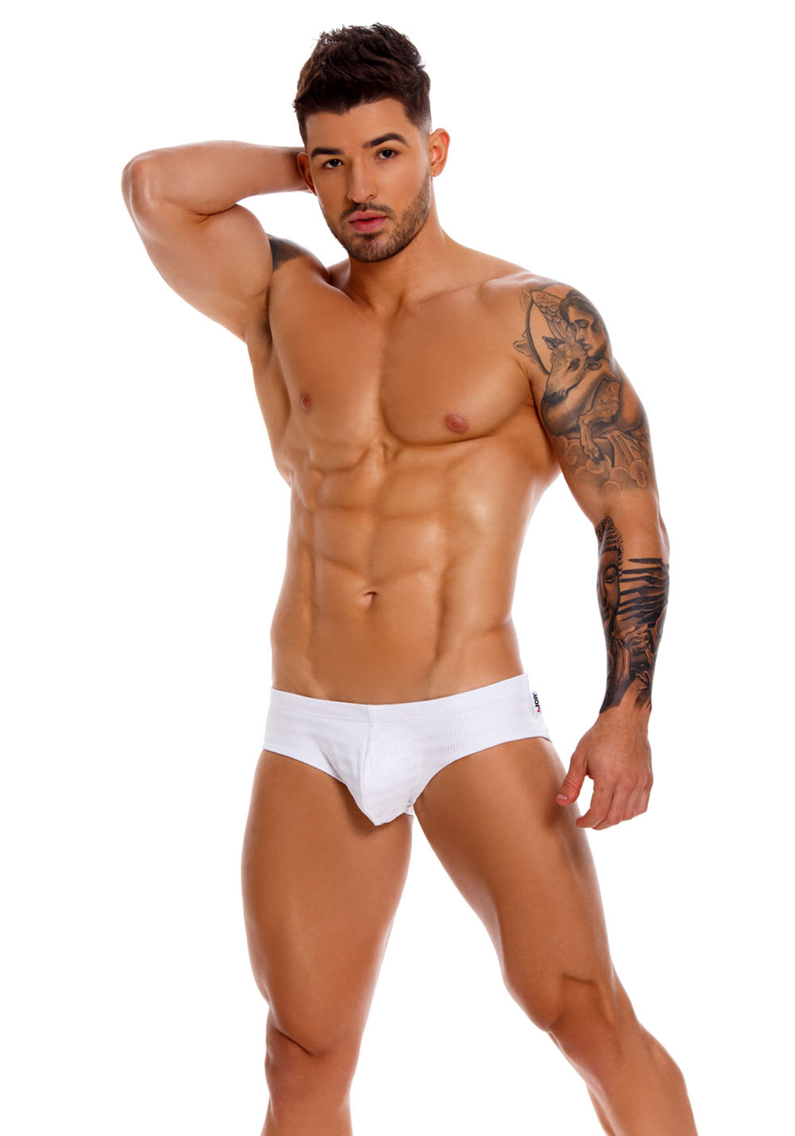 JOR Swim Brief Glow | White