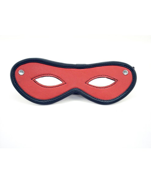 Rouge Augenmaske offen
