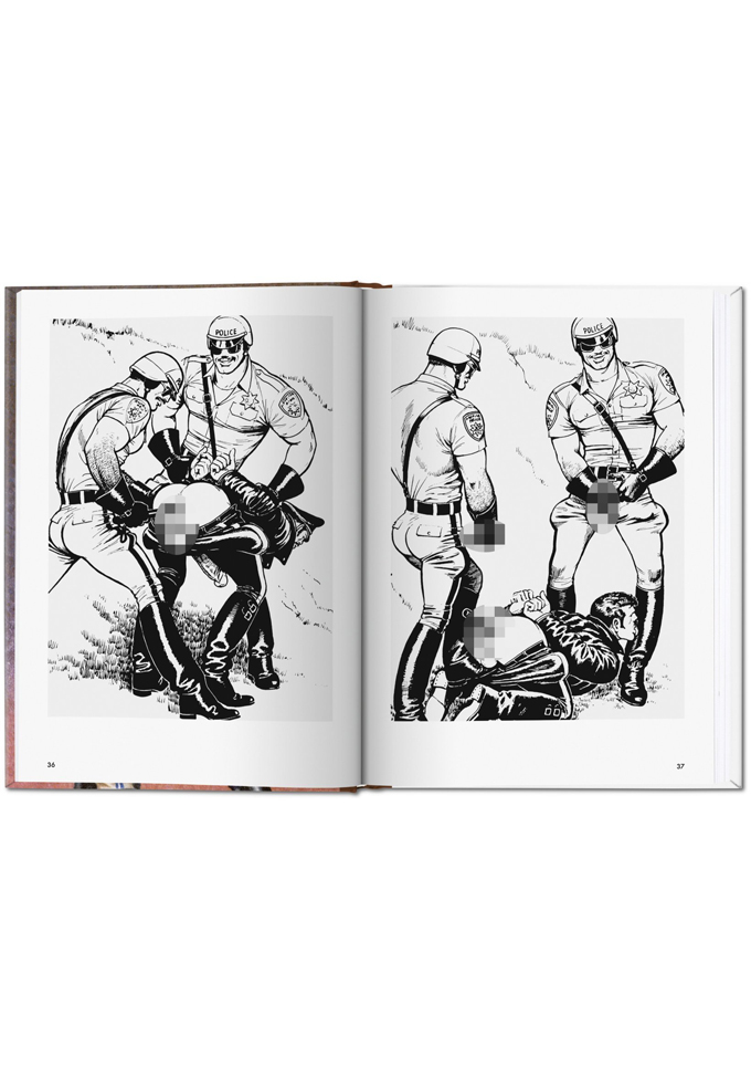The Little Book of Tom of Finland: Cops & Robbers