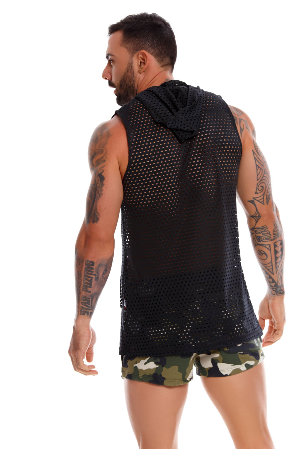JOR Tank Top Stereo Black