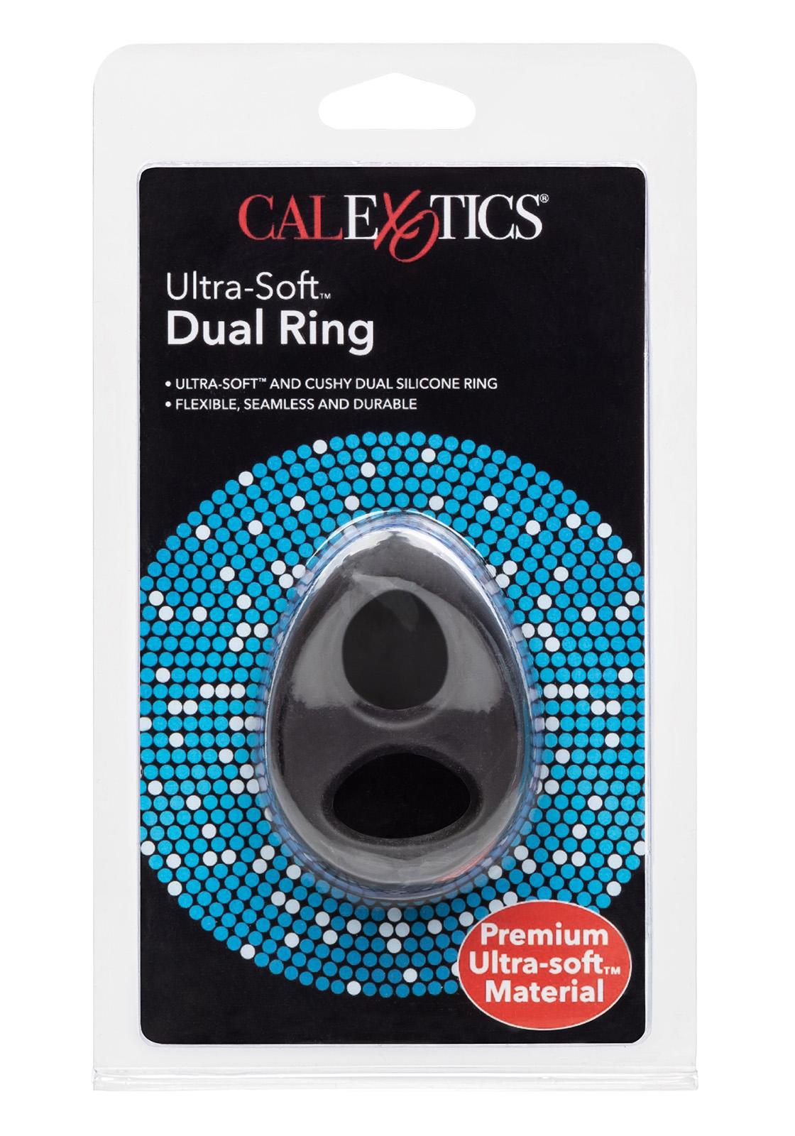 CalEx: Ultra Soft Dual Cock Ring