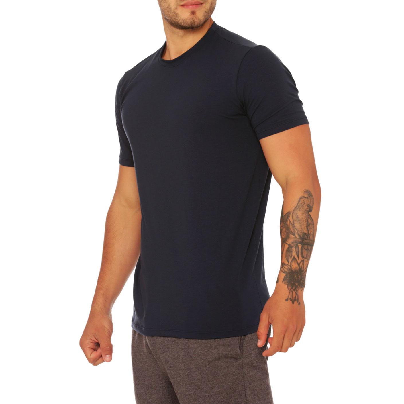 Mundo Unico Comfort Wear T-Shirt   Blue