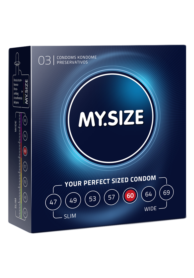 My.Size Kondome -  Grösse 60