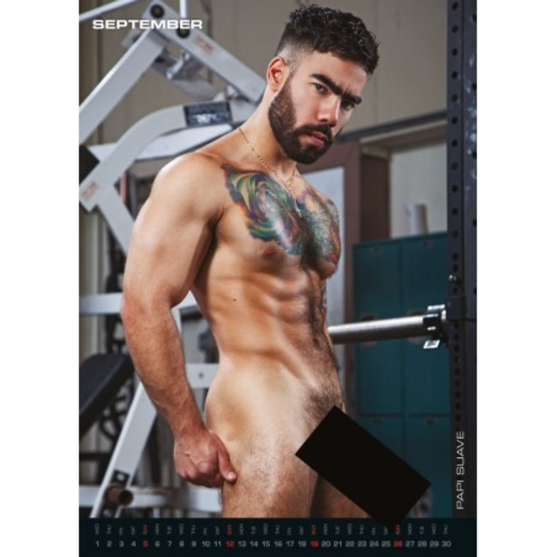 The Men of Raging Stallion Kalender 2021