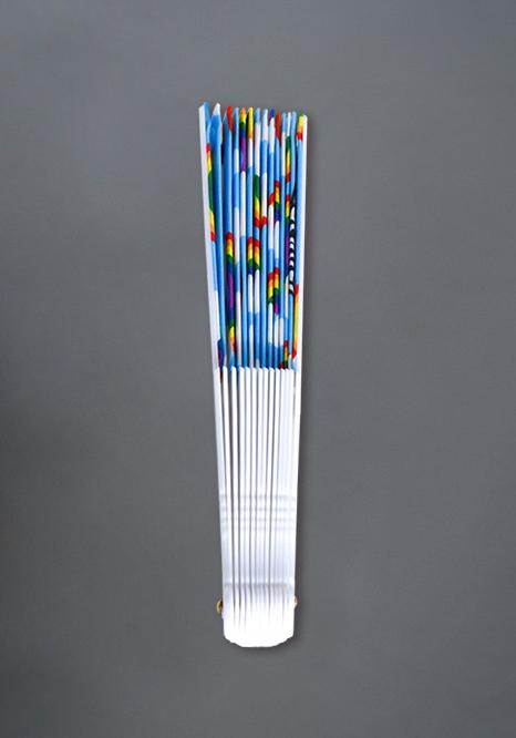 Andrew Christian Rainbow Handfächer
